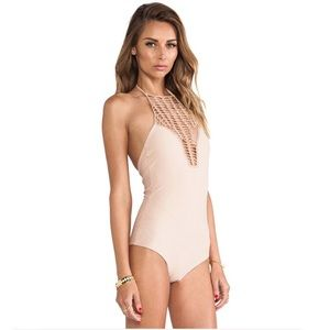 Acacia Swim Teahupo'o One Piece Naked Swimsuit